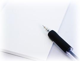 中小企業診断士試験ノートと鉛筆